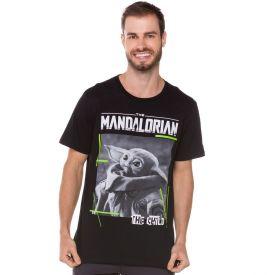 Camiseta The Child Mandalorian Disney Preto