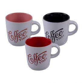 Caneca Lyor Coffee Time 180Ml - Porcelana