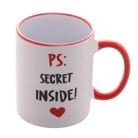 Caneca Lyor Porcelana 350Ml - Secret Inside