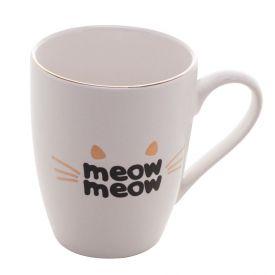 Caneca Lyor Porcelana 350Ml - Meow