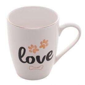Caneca Lyor Porcelana 350Ml - Love Pet