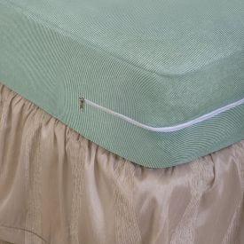 Capa Protetora Para Colchão Queen Com Zíper Solecasa - Verde