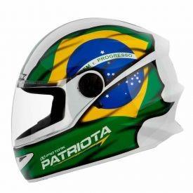 Capacete R8 Pro Tork Patriota - PATRIOTA 58