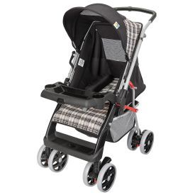 Carrinho Bebê Berço Reversível Thor Tutti Baby - Preto