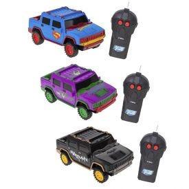 Carrinho De Controle Remoto Power Drivers Liga Da Justiça Candide - 9236
