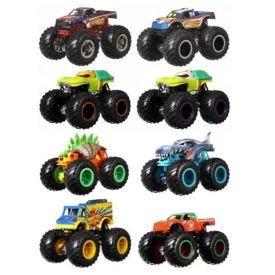 Carrinho Duplo Hot Wheels Monster Trucks Mattel 1:64 - FYJ64