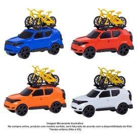 Carrinho E Bike Run City Orange Toys - 0508