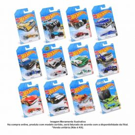 Carrinho Miniatura Sortido Unitário Hot Wheels Mattel - C4982
