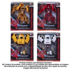Carrinho Robô Transformer Havan - HBR0038