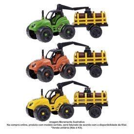 Carrinho Trator De Tora Orange Toys - 0515