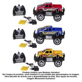Carro Controle Remoto Four-Wheeler Pick-Up Cks Toys - 13830A