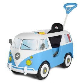 Carro De Passeio E Pedal Calesita Kombina Azul - 1029