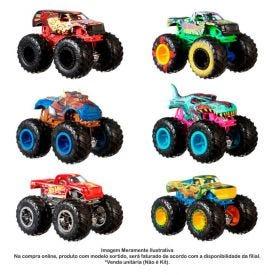Carro Hot Wheels 1:64 Monster Trucks Mattel - FYJ44