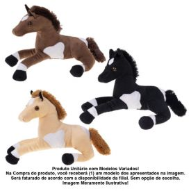 Cavalo Corcel De Pelúcia Havan - 157