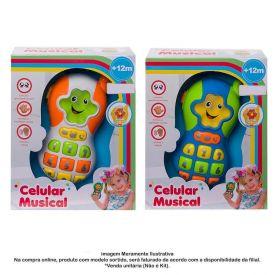 Celular Musical Havan Hbr0136 - Sortido