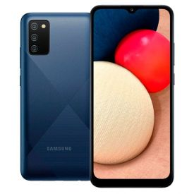 "Celular Smartphone Galaxy A02s 32Gb 6,5"" Samsung - Azul"