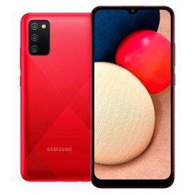 """Celular Smartphone Galaxy A02s 32Gb 6,5"""" Samsung - Vermelho"""