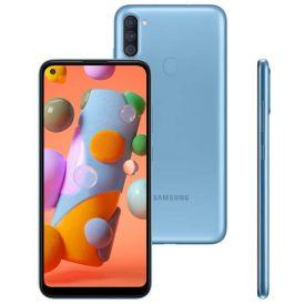 "Celular Smartphone Galaxy A11 64Gb 6,4"" Samsung - Azul"
