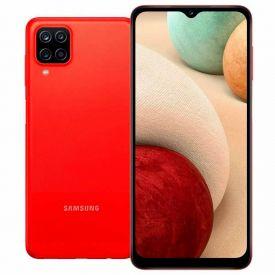 """Celular Smartphone Galaxy A12 64Gb 6,5"""" Samsung A127m - VERMELHO"""