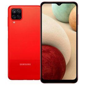"""Celular Smartphone Galaxy A12 64Gb 6,5"""" Samsung - Vermelho"""