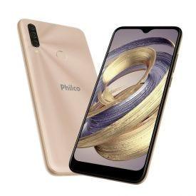 """Celular Smartphone Hit P10 128Gb 6,2"""" Philco - Dourado"""