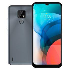 "Celular Smartphone Moto E7 64Gb 6,5"" Motorola - Cinza"