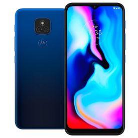 "Celular Smartphone Moto E7 Plus 64Gb 6,5"" Motorola - Azul Navy"