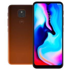 "Celular Smartphone Moto E7 Plus 64Gb 6,5"" Motorola - Bronze Âmbar"