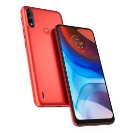 """Celular Smartphone Moto E7 Power 32Gb 6,5"""" Motorola - Vermelho"""