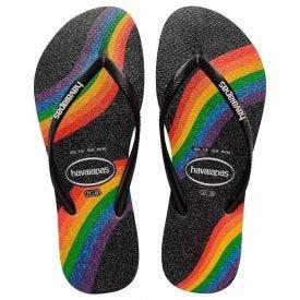 Chinelo Feminino Slim Pride Havaianas - PRETO 33/34