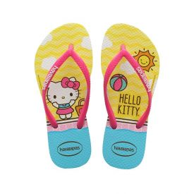 Chinelo Infantil Hello Kity Havaianas - Branco 33-34