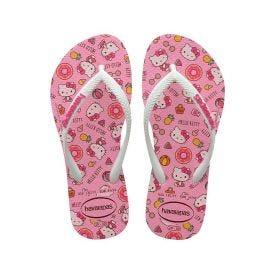 Chinelo Infantil Hello Kity Havaianas - Rosa 29-30