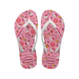 Chinelo Infantil Hello Kity Havaianas - Rosa 33-34