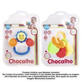 Chocalho Formas Coloridas Havan - HBR0064