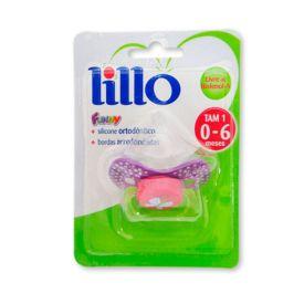 Chupeta Funny Ortodontico Nº1 Silicone 0-6 Meses Lillo - Lilas
