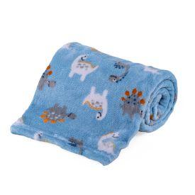 Cobertor Bebê Microfibra 90X100cm Yoyo Baby - Dino