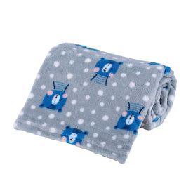 Cobertor Bebê Microfibra 90X100cm Yoyo Baby - Urso