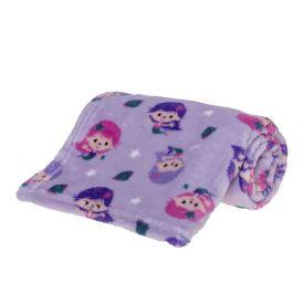 Cobertor Bebê Microfibra 90X100cm Yoyo Baby - Sereia