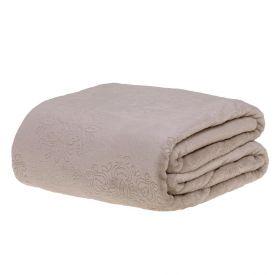 Cobertor Casal Patricia Foster - Arabesco Cru