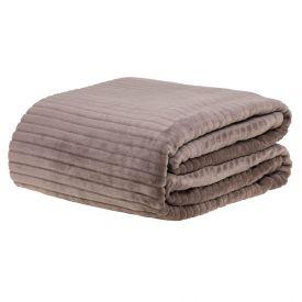 Cobertor De Casal 1,80X2,20M Canelado - Cabocla