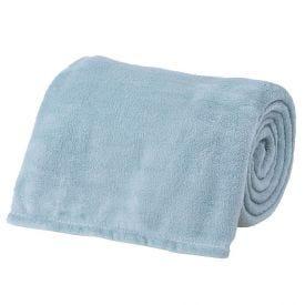 Cobertor Microfibra Solteiro Liso Andreza - Acqua