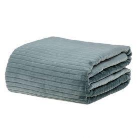 Cobertor Queen 2,20X2,40M Canelado - Verde Ingles