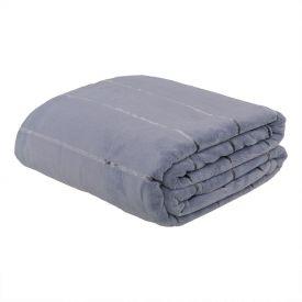 Cobertor Queen Lyon - Cinza