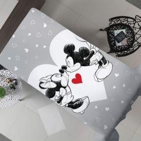 Cobertor Solteiro Flanela Estampado Disney - Mickey Love