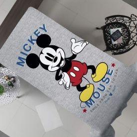 Cobertor Solteiro Flanela Estampado Disney - Mickey Mouse