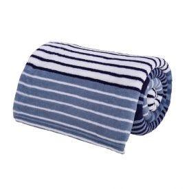 Cobertor Solteiro Microfibra Estampado Yaris - Desire Azul Medio