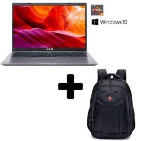 Combo Notebook Asus M509da Com Mochila Executiva Swissport - Cinza