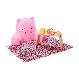 Conjunto Barbie Mattel Estante Móveis E Acessórios Sortido - GRG56