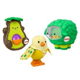 Conjunto De Animais Deliciosos Fisher Price Mattel - GNL81