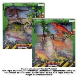 Conjunto De Dinossauros 5 Peças Havan - HME0119